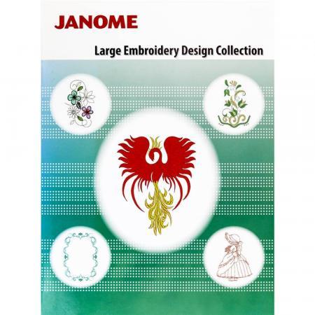 Kolekcja dużych haftów dla hafciarki Elna 830 EX, fig. 1
