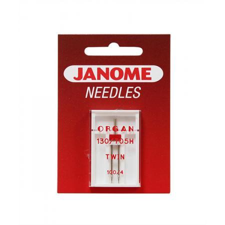 Igła podwójna Janome do tkanin (4,0/100), fig. 1