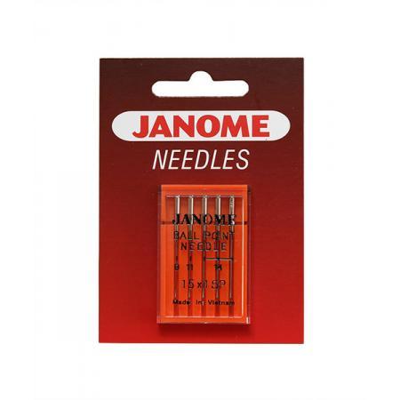 Igły Janome z kulką (1x65 1x75 3x90), fig. 1