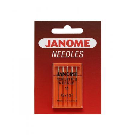 Igły Janome do tkanin (5x75, ściegi dekoracyjne), fig. 1