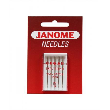 Igły Janome do tkanin (5x90, ściegi dekoracyjne), fig. 1