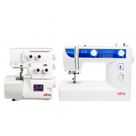 Maszyna do szycia ELNA 220 EX + owerlok ELNA 264D, fig. 1