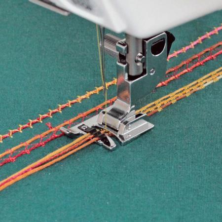 Stopka do naszywania ozdobnych sznurków Janome (rotacyjny 9mm), fig. 1