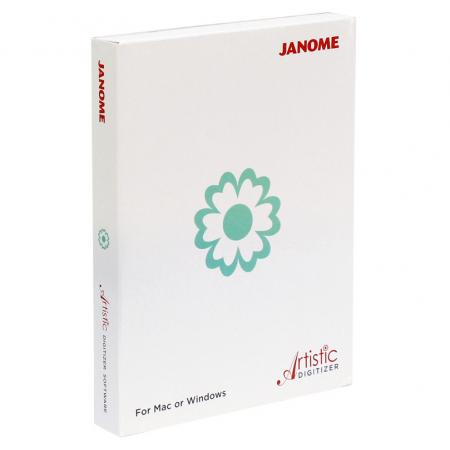 Profesjonalny program do projektowania haftów Janome Artistic Digitizer, fig. 1