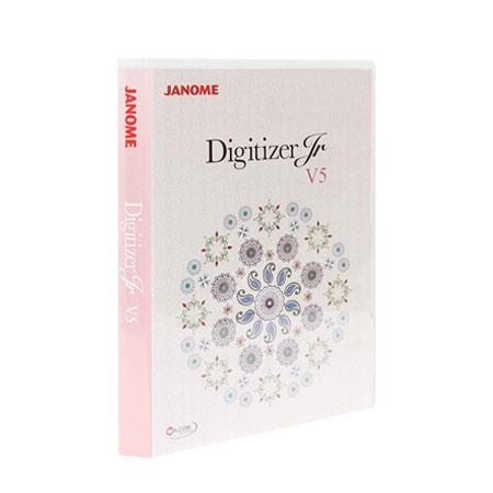 Janome Digitizer Jr v5.0, fig. 1