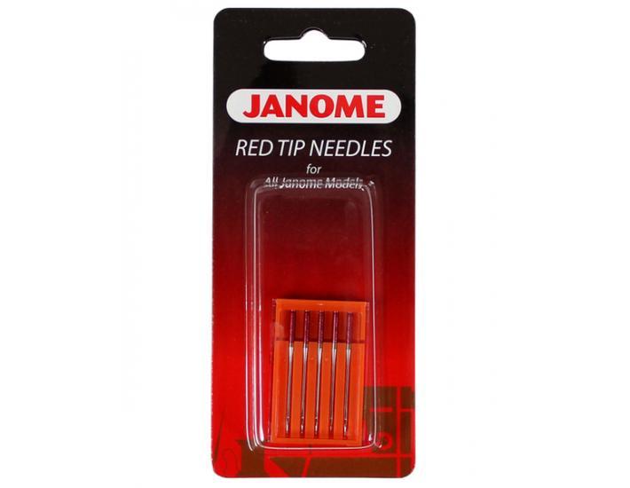 Igły Janome Red Tip do tkanin (5x90), fig. 1