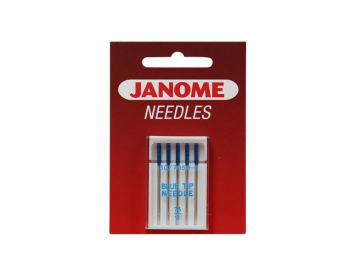 Igły Janome BLUE TIP specjalne do tkanin i dzianin (do szycia i haftowania), fig. 1