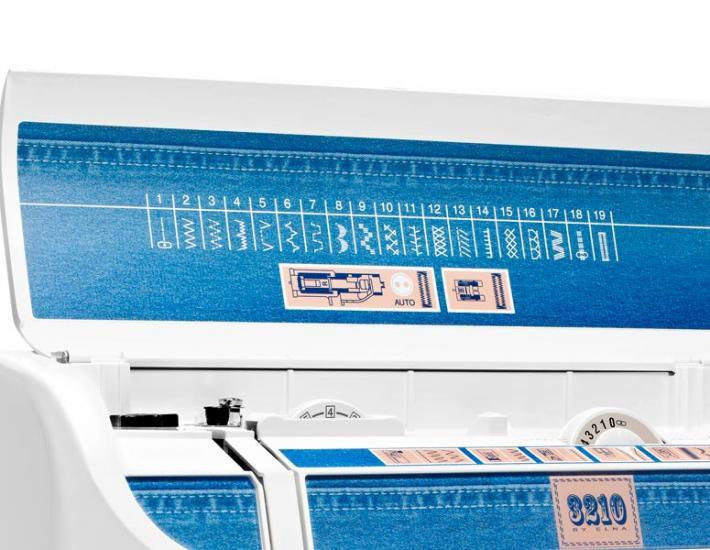 Maszyna do szycia Elna 3210 Jeans, fig. 2
