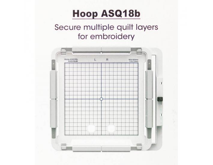 Tamborek ASQ16b z programem do pikowania AcuFil™, fig. 3