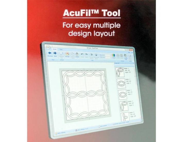 Tamborek ASQ16b z programem do pikowania AcuFil™, fig. 4
