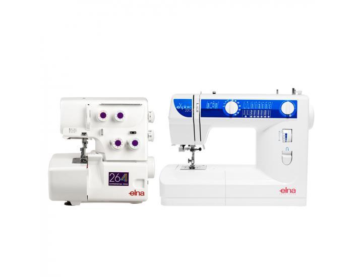 Maszyna do szycia ELNA 220 EX + owerlok ELNA 264D, fig. 3