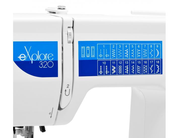 Maszyna do szycia Elna 320 eXplore, fig. 5