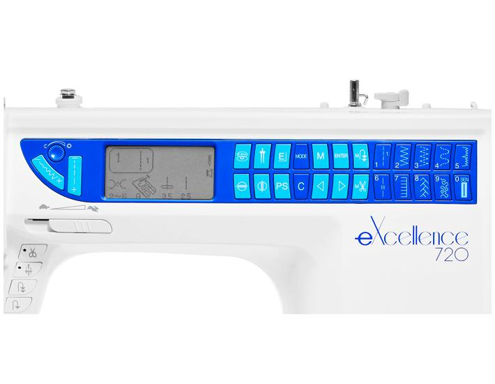 Maszyna do szycia Elna 720 eXcellence, fig. 4