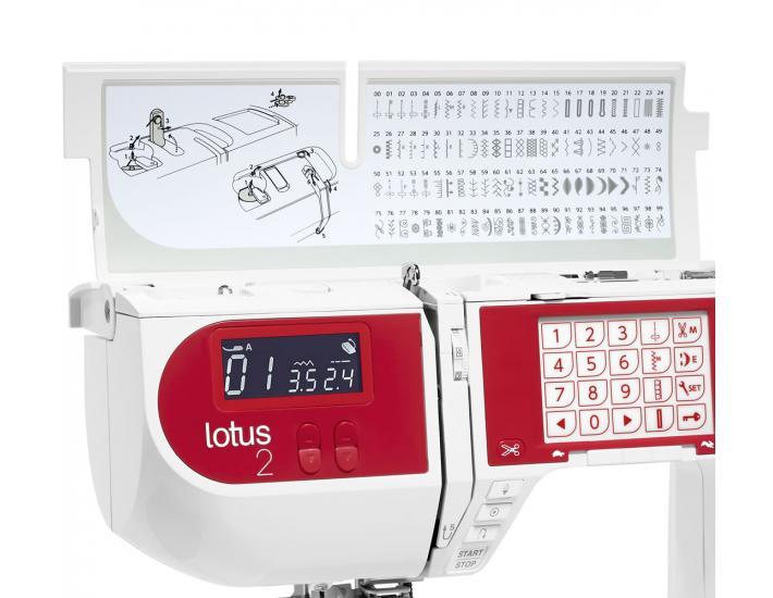 Maszyna do szycia Elna Lotus 2, fig. 9