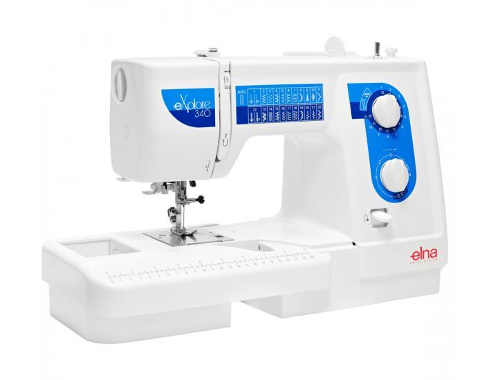 Maszyna do szycia Elna 340 eXplore, fig. 3
