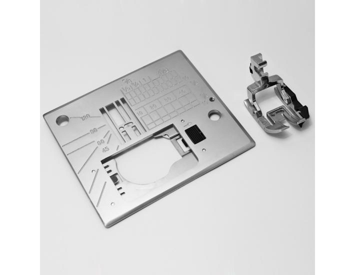 """Stopka krawędziowa 1/4"""" (6mm) z płytką Janome (720 EX), fig. 1"""