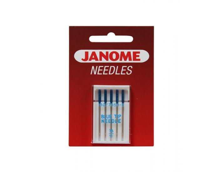 Komplet igieł JANOME 4 (z kulką, do tkanin, igła podwójna), fig. 3
