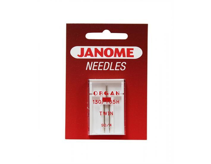 Komplet igieł JANOME 4 (z kulką, do tkanin, igła podwójna), fig. 4
