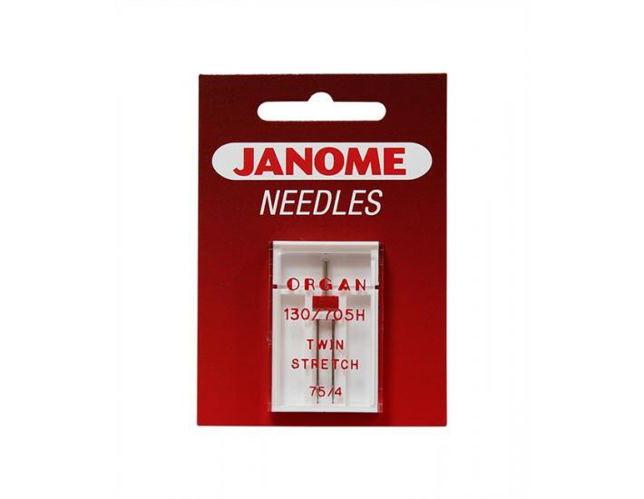 Komplet igieł Janome 2 (do tkanin, dzianin, igła podwójna), fig. 4