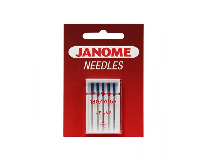 Komplet igieł JANOME 3 (do tkanin, dzianin, jeansu, skóry, podwójna), fig. 4