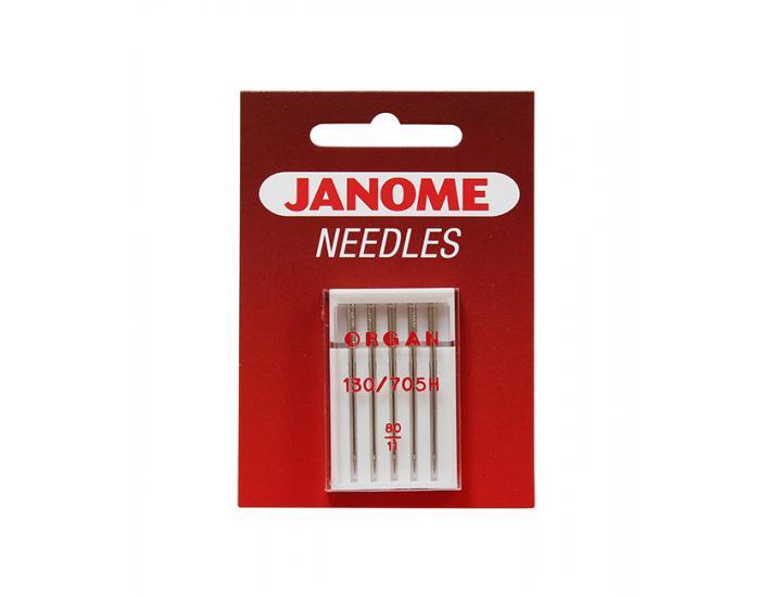Komplet igieł Janome 1 (do tkanin, dzianin, syntetyków, poliestrów), fig. 3