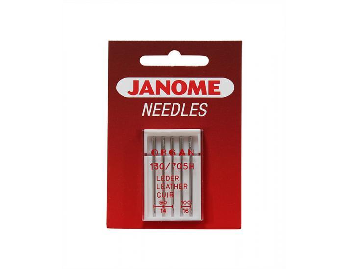 Komplet igieł JANOME 3 (do tkanin, dzianin, jeansu, skóry, podwójna), fig. 6