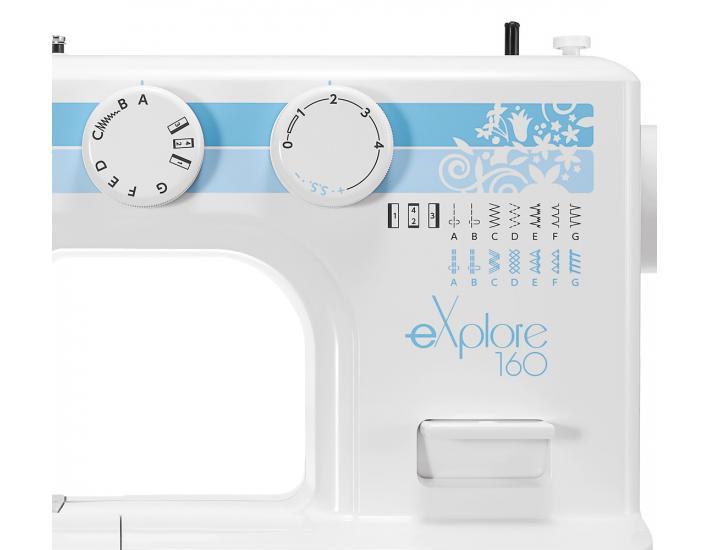 Maszyna do szycia Elna 160 eXplore, fig. 4