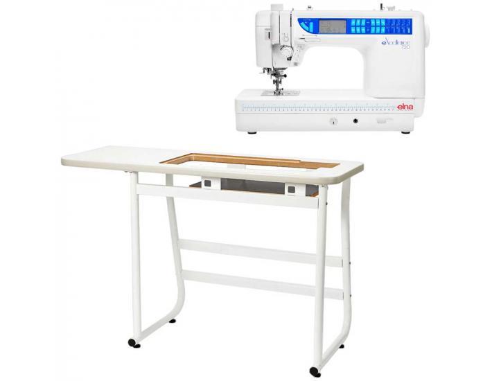 Elna 720 EX + stół, fig. 1
