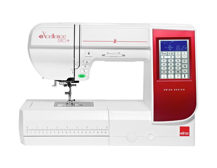 Maszyna do szycia Elna eXcellence 580+, fig. 1