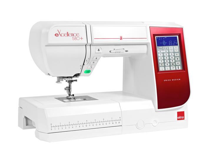 Maszyna do szycia Elna eXcellence 580+, fig. 2