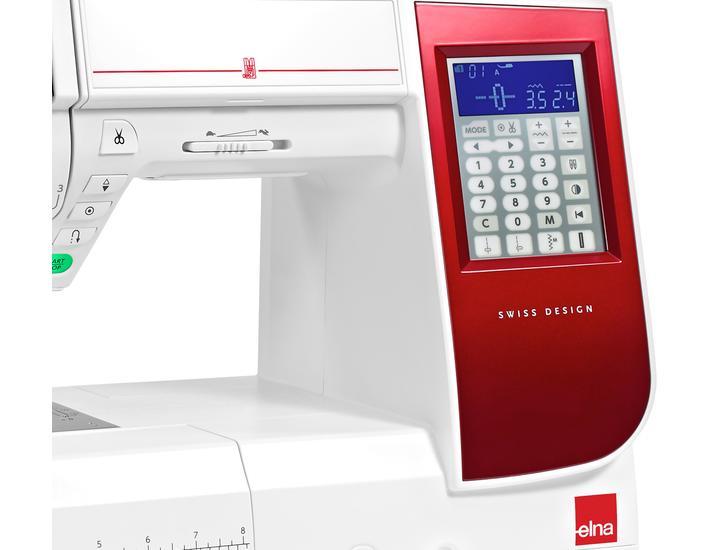 Maszyna do szycia Elna eXcellence 580+, fig. 4