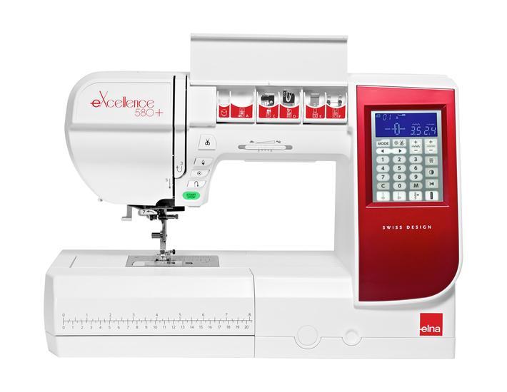 Maszyna do szycia Elna eXcellence 580+, fig. 5